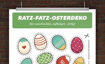 Grußkarte Ostern