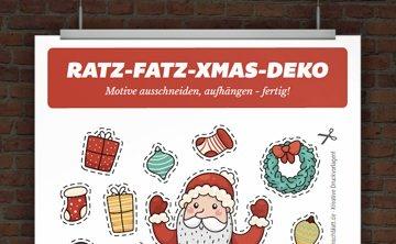 Originelle Weihnachtskarte