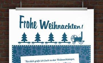 © Druckeselbst! kostenlose Vorlage Weihnachten