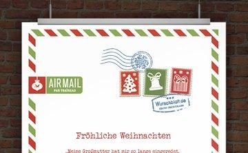 Weihnachtsbrief AIRMAIL