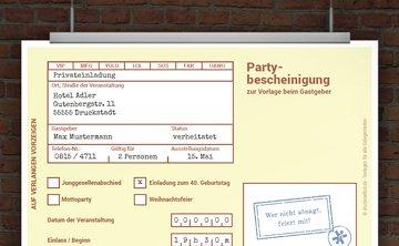 © Druckeselbst! >Witzige Einladung