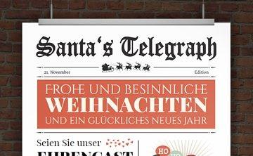 drucke selbst! kostenlose einladung weihnachtsfeier, Einladung