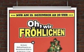 © Druckeselbst! Einladung Weihnachtsparty online gestalten