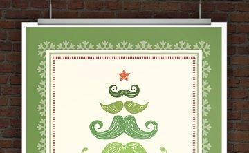 © Druckeselbst! originelle Weihnachtseinladung