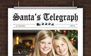 © Druckeselbst! Weihnachtskarte mit Foto