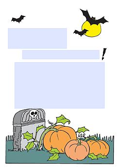 drucke selbst! kostenlose einladung zur halloweenparty zum ausdrucken, Einladung