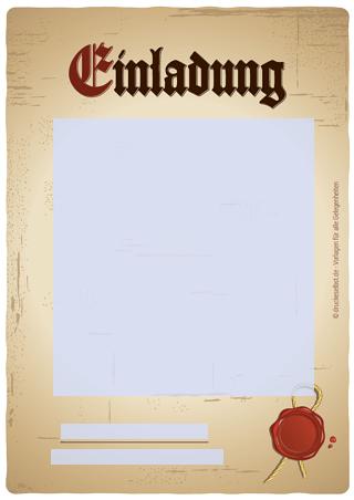 einladungskarte vorlage – cloudhash, Einladung