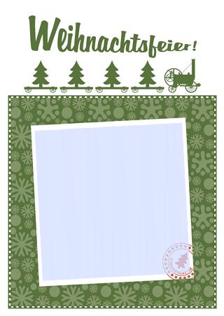 Einladungskarten Weihnachtsfeier Vorlagen