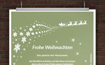drucke selbst kostenloser weihnachtsbrief airmail. Black Bedroom Furniture Sets. Home Design Ideas