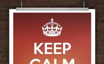 © Druckeselbst! Keep Calm Poster