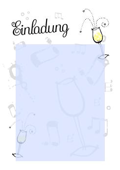 drucke selbst! kostenlose geburtstagseinladung zum ausdrucken, Einladung