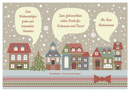 Drucke Selbst Weihnachtskarten Kostenlos Online Gestalten