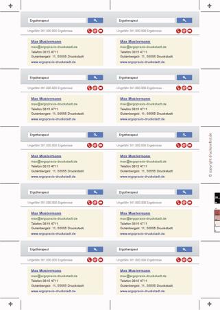 Drucke Selbst Vistenkarten Kostenlos Online Gestalten