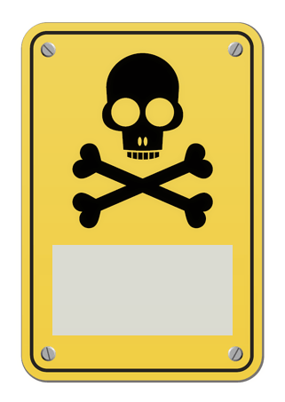 Drucke Selbst Schild Mit Totenkopf Zum Ausdrucken