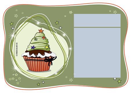drucke selbst! weihnachtliche einladung mit mustertext, Einladung