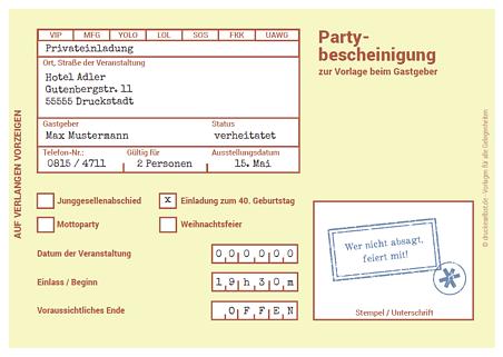 drucke selbst! geburtstagseinladungen kostenlos online gestalten, Einladung
