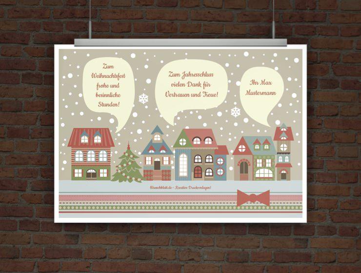 drucke selbst kostenlose weihnachtskarte zum ausdrucken. Black Bedroom Furniture Sets. Home Design Ideas