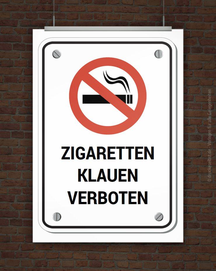 drucke selbst rauchen verboten schild zum ausdrucken. Black Bedroom Furniture Sets. Home Design Ideas
