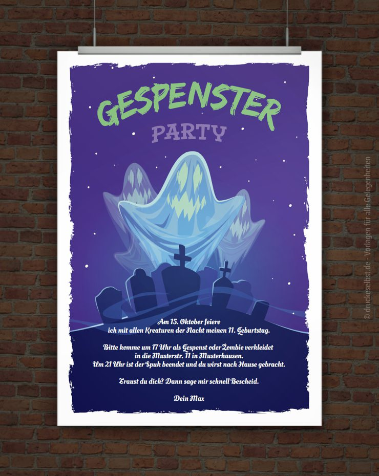 Gespensterparty